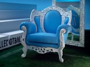 Handmade Italian furniture silver leaf design - Football Collection - Modenese Gastone