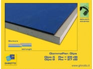 Sound insulation panel GOMMAPAN GIPS - GHIROTTO TECNO INSULATION
