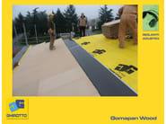 Sound insulation panel GOMMAPAN WOOD - GHIROTTO TECNO INSULATION