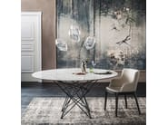 Rectangular ceramic table GORDON KERAMIK - Cattelan Italia