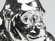 Resin decorative object GORILLA CHROME - KARE-DESIGN