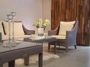 Rectangular garden side table GRACE | Coffee table - 7OCEANS DESIGNS