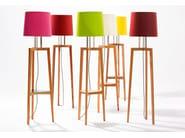 Wooden floor lamp GRACE PLUS - sixay furniture