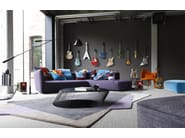 Corner fabric sofa GRAPHER - ROCHE BOBOIS