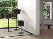 Portavaso in alluminio GREEN CLOUD - Systemtronic