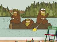 Kids wallpaper GREETINGS FROM ALASKA - Wallpepper