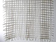 Handmade wool felt lap robe GRID - Ronel Jordaan™