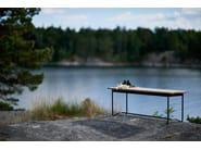 Teak garden bench GRINDA | Garden bench - Skargaarden