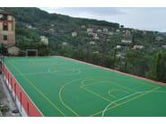 Sports flooring GRIPPER - GEOPLAST