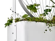 Powder coated steel Flower pot GRO - Nola Industrier