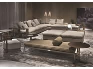 Corner sectional fabric sofa GROUNDPIECE | Sectional sofa - FLEXFORM