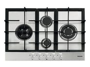 Gas built-in hob GTP842HIX | Hob - Glem Gas