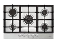Gas built-in hob GTP855HIX | Hob - Glem Gas
