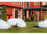 Polyethylene garden sofa GUMBALL SOFA - PLUST Collection by euro3plast
