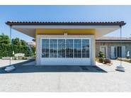 Up-and-over automatic garage door Garage door 1 - Garden House Lazzerini