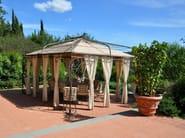 Wrought iron gazebo Gazebo 10 - Garden House Lazzerini