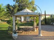Wrought iron gazebo Gazebo 11 - Garden House Lazzerini