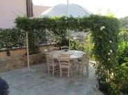 Wrought iron gazebo Gazebo 5 - Garden House Lazzerini