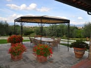 Wrought iron gazebo Gazebo 8 - Garden House Lazzerini