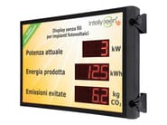 Monitoring system for photovoltaic system Giant Display - 4-noks by Astrel Group