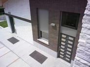 Exterior glazed wooden entry door Glazed entry door - CARMINATI SERRAMENTI