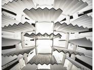 LED resin pendant lamp HALLEY - Aldo Bernardi