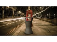 Outdoor waste bin with lid HAMLET - Bellitalia