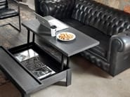 Solid wood coffee table with tray for living room HANDY | Coffee table - Devina Nais