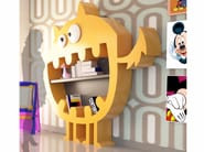 Wall-mounted Adamantx® kids bookcase HARDY - ZAD ITALY