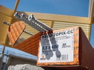Anchorage system HECO-TOPIX-CC - HECO ITALIA EFG