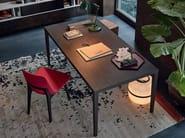 Rectangular wood veneer table HECTOR - Poliform