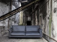 3 seater leather sofa HELIUM - Canapés Duvivier