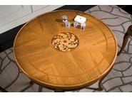 Round solid wood poker table HENRY | Game table - Arvestyle