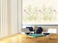 Nonwoven wallpaper with floral pattern HERBARIUM - MyCollection.it