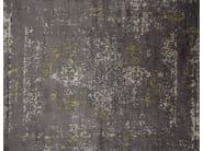 Handmade rectangular custom rug HERITAGE ANIS - EDITION BOUGAINVILLE