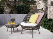 Low round coffee table HONEY | Coffee table - Atmosphera