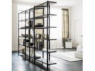 Open modular steel bookcase HUDSON - Cattelan Italia
