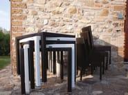 Stackable resin wicker garden chair IBIZA | Chair - Talenti