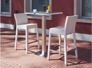 Resin wicker counter stool IBIZA | Counter stool - Talenti