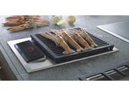 Piano cottura da incasso elettrico in acciaio inox ICBIG15/S DOMINO | Piano cottura con grill - Sub-Zero Group