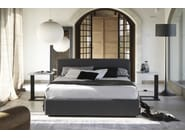 Upholstered fabric bed with removable cover IMBOTTITI   Double bed - Devina Nais