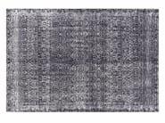 Tappeto a motivi fatto a mano rettangolare in lana INDIGO - GAN By Gandia Blasco