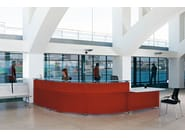 Modular reception desk INFORMA - ACTIU