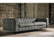 Tufted sofa INGRID - Max Divani