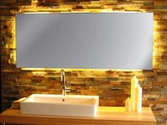 Bathroom mirror with integrated lighting INLIGHT - Top Light