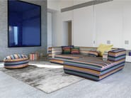 Sectional sofa with removable cover INNTIL | Sectional sofa - MissoniHome