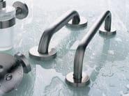 Fixed stainless steel grab bar INOX | Grab bar - INDA®