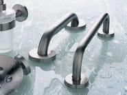 Stainless steel towel rail INOX   Towel rail - INDA®