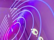 Illuminated LED shower screens INSPIRATION - Glassolutions