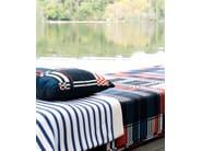 Striped Modal® lap robe INTEMPOREL - LELIEVRE
